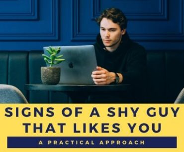 The signs of a shy guy likes you at work