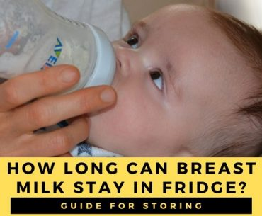 How long can breast milk stay in and out of the fridge?
